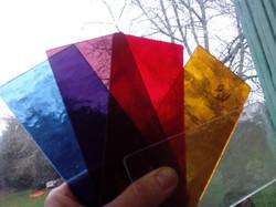 1 - la maquette choix des couleurs