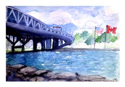 Blue Wtaer Bridge