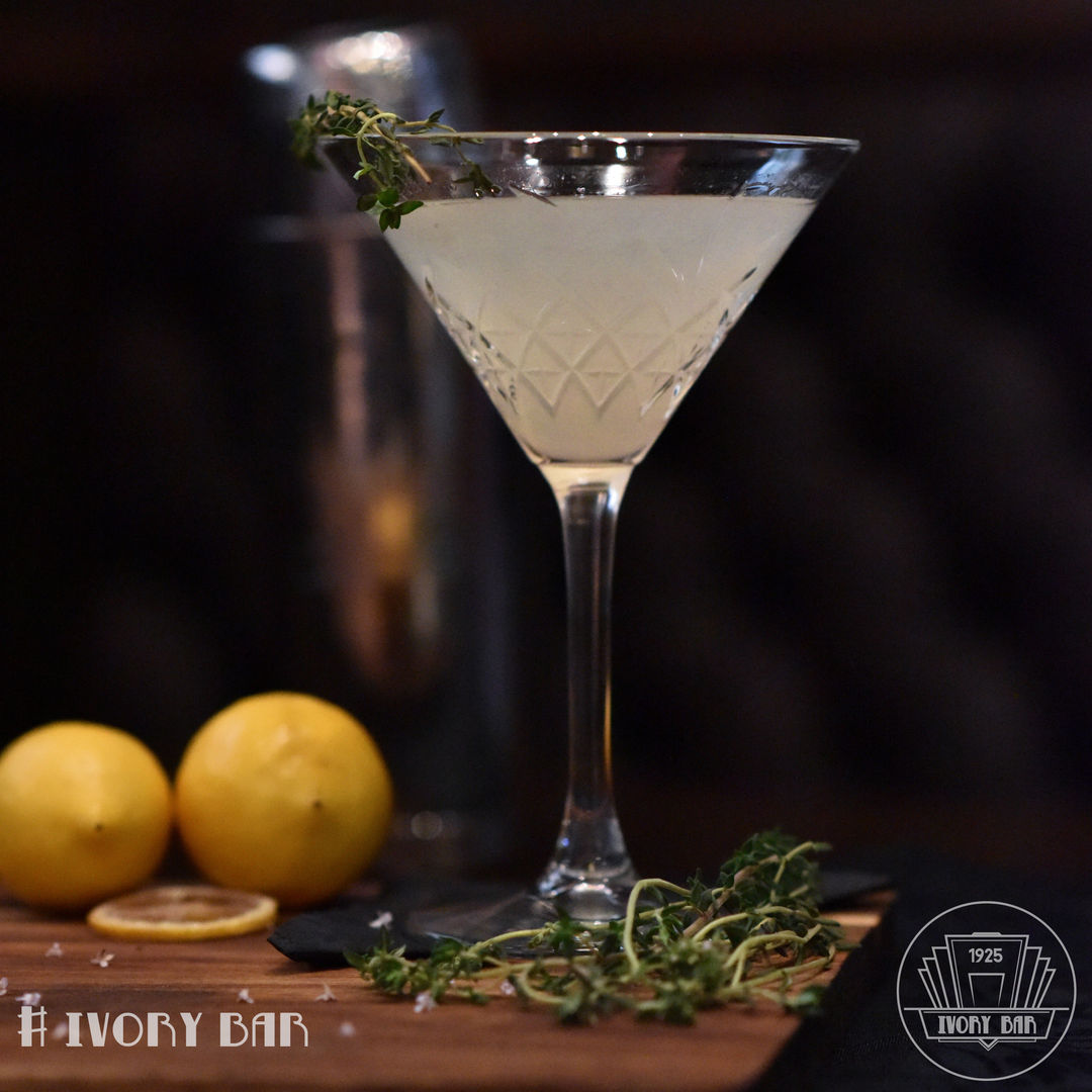 Any time is the Perfect Thyme for this Cocktail of the Month. Lychee, lemon and passion fruit with thyme garnish is in this tasty combo. Just Perfect, any Thyme!