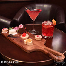 Our Valentine's Day special dessert platter for two and cocktails to match. A tasty treat we are sure you will love ❤️