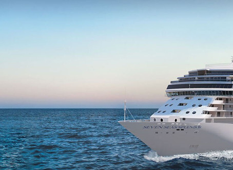 Regent Seven Seas Cruises® Takes Delivery Of The Ship That Perfects Luxury, Seven Seas Splendor