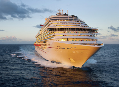 Carnival Magic to Set Sail from Four Cities Across Two Continents in 2021