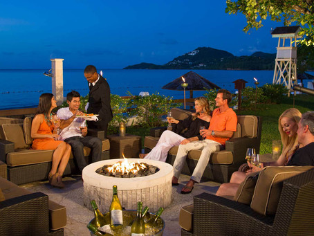 Sandals Halcyon Beach At Your Service!