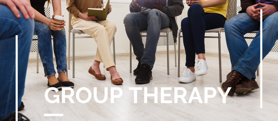Group Therapy: Connection, Compassion, Communication.