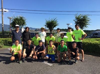 富士登山駅伝2016