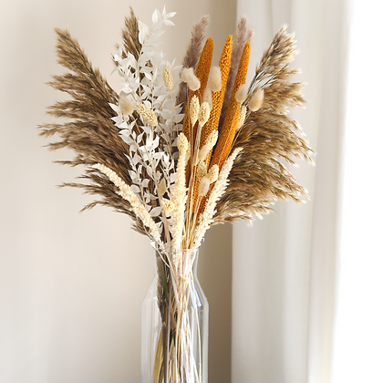 Dried Flower Bouquet - Amber