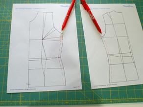 Pattern grading - Facebook Live