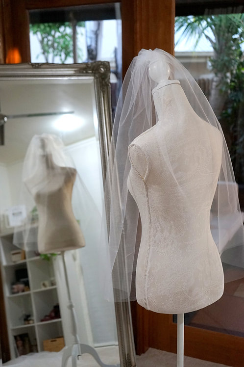 Elbow Length Blusher Veil Collection