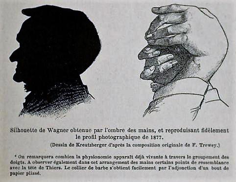 Félicien Trewey, ombromane