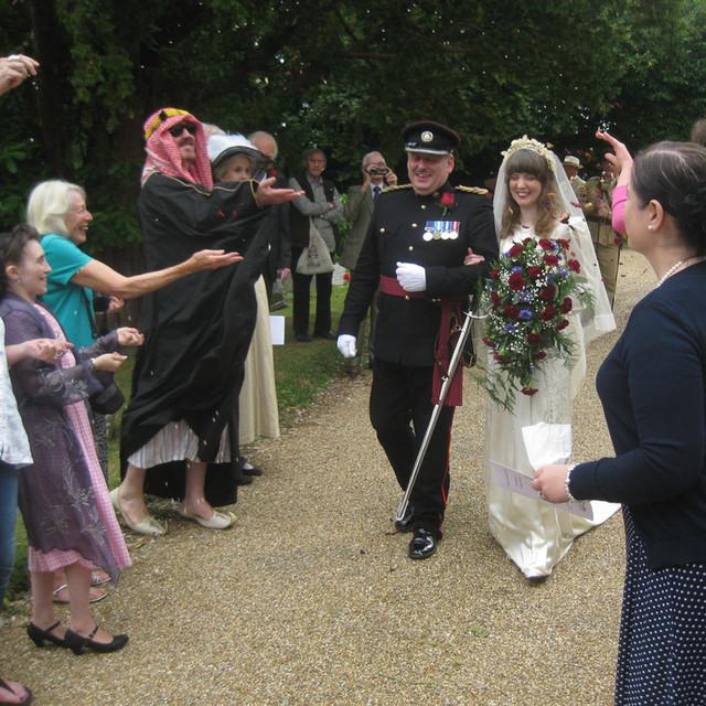 Angela and Graham's wedding