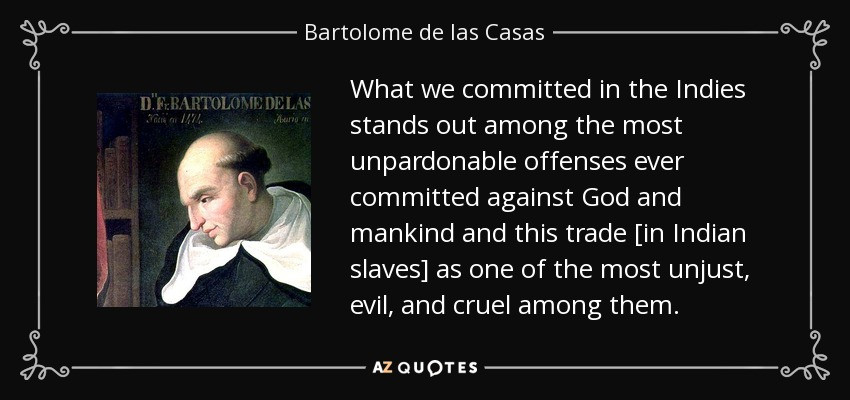 Bartolomé de las Casas: Character Model for Fiction Writers