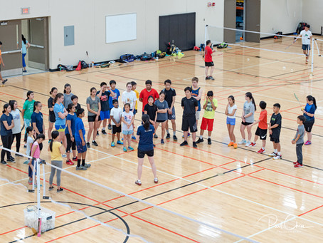 Badminton Summer Camp