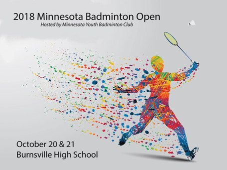 2018 Minnesota Badminton Open
