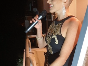 The Sea Point Balcony Singer