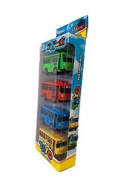 Игровой набор Тайо маленький автобус c открывающимися дверьми TAYO