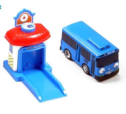 Маленький автобус Тайо с гаражом