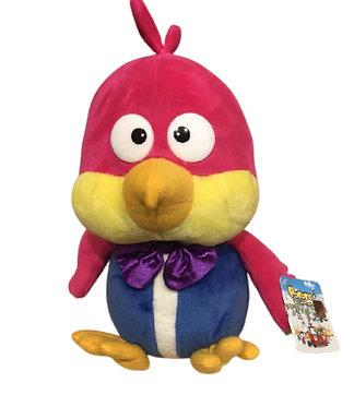 Мягкая игрушка Птичка Колибри Гарри из мультфильма Пингвиненок Пороро 25 см