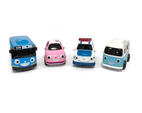 Набор металлических машинок Tayo Little Bus Friends Mini