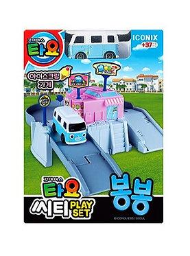 Игровой набор Магазин мороженого с автобусом Бонг-Бонг Iconix