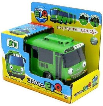 Зеленый автобус игрушка Роги Iconix