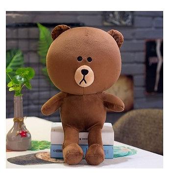 Мягкая игрушка медведь Браун (Brown), 35 см