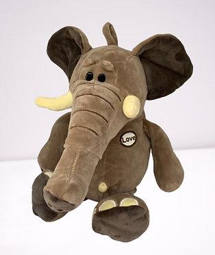 Игрушка Слон мягкая 35 см