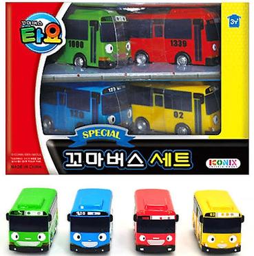 Набор автобусов The Little Bus TAYO мини