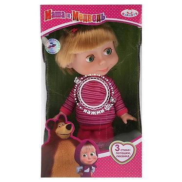Кукла Маша 25 см озвученная - Маша и Медведь