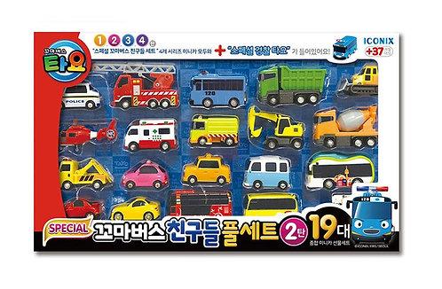 Большой набор машинок The Little Bus TAYO Friends