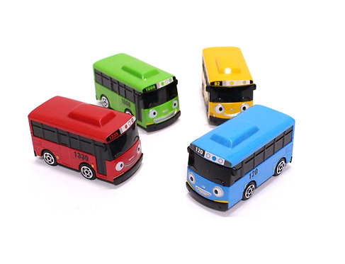 Набор металлических автобусов (размер автобуса 6,5 см) Iconix