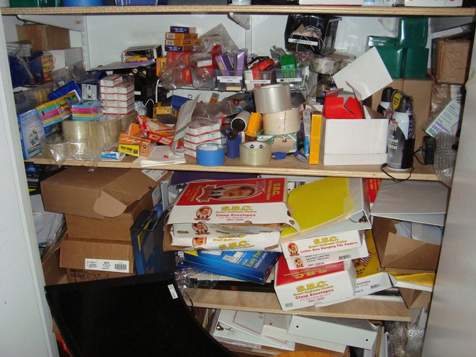 4 Steps to Organize Your Supply Closet