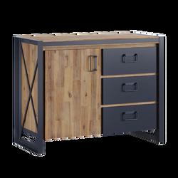 Chest 1 door 3 drawers