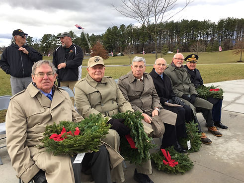 SWVC menbers 7th Annual Wreath Laying Ce