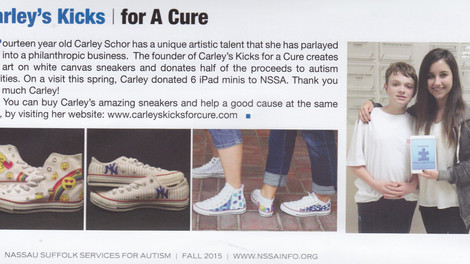 NSSA: Carley's Kicks/for a cure
