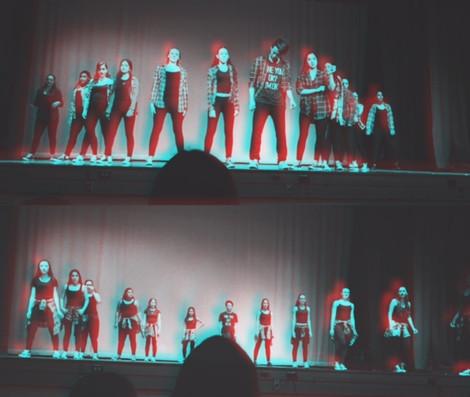 High School Dance Team Helps Kicks for Cure