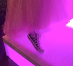 Birthday Girl Sporting Kicks at Bat Mitzvah Celebration November 8, 2014