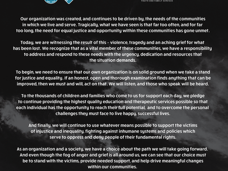 Joint Statement On Recent Events