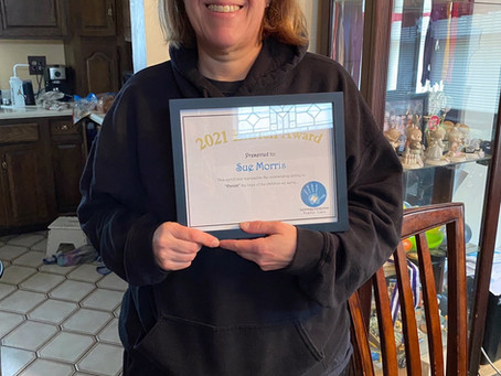 2021 Enrich Award - Sue Morris