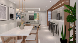 Apartamento VA - Living / Jantar