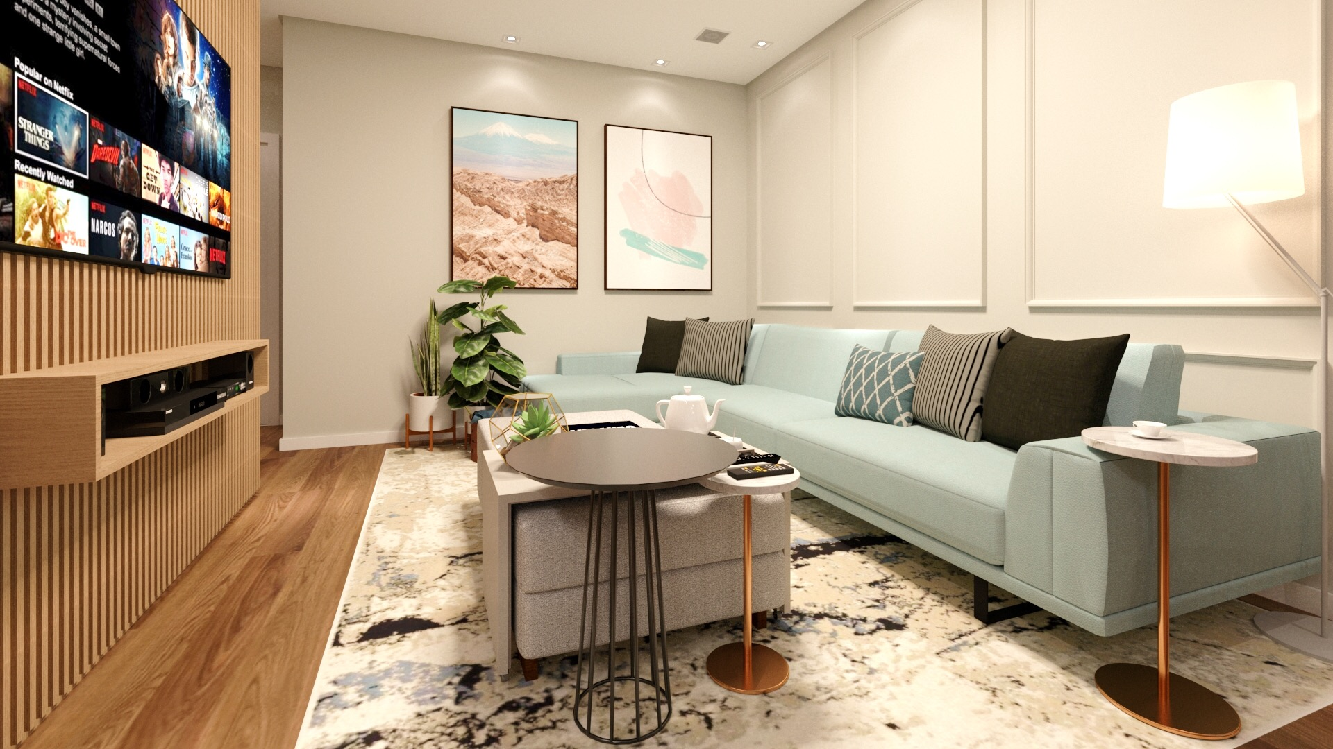 Apartamento SB - Living