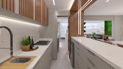 Apartamento VA - Cozinha