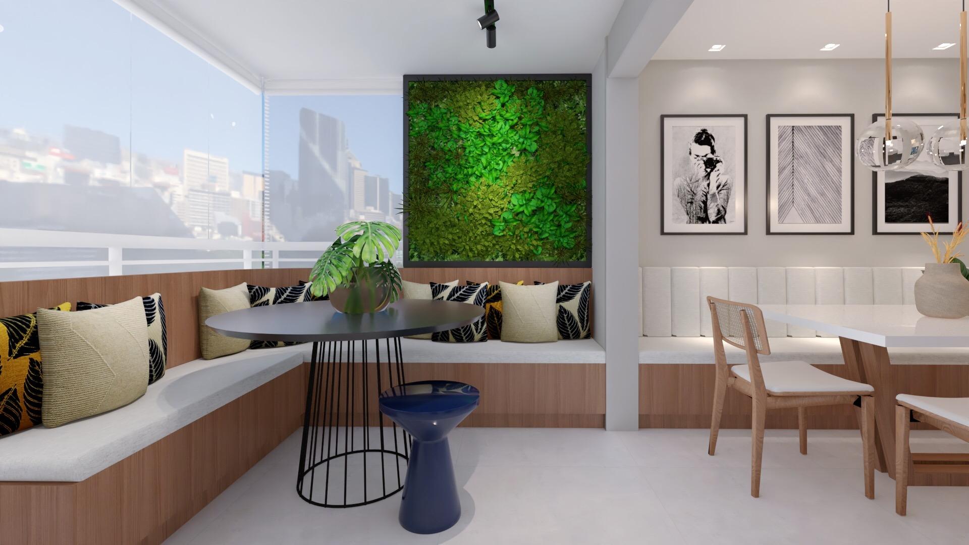 Apartamento VA - Varanda Gourmet