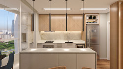 Apartamento SB - Cozinha