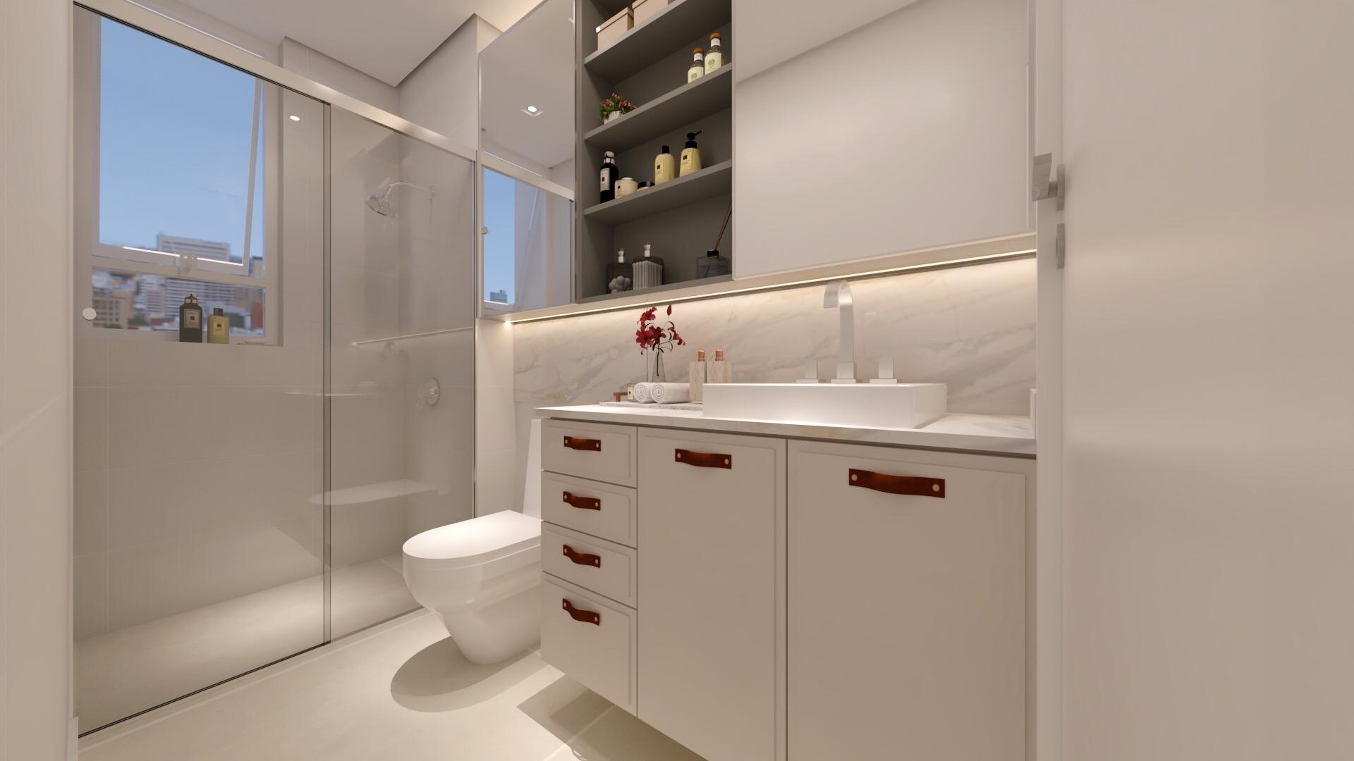 Apartamento SB - Banheiro Filha