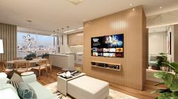 Apartamento SB - Living e Jantar