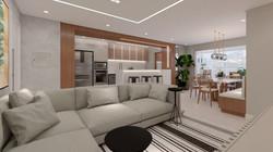 Apartamento VA - Living