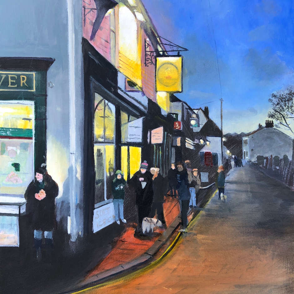 Leigh old town, Ray Andrews