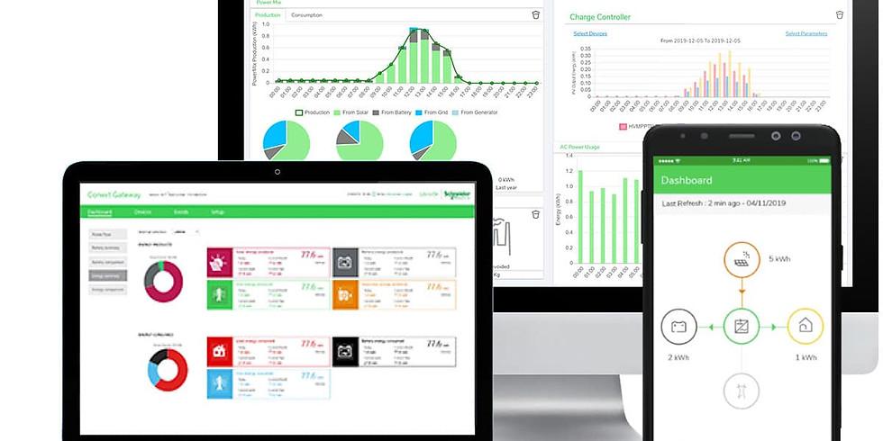 Schneider Solar Monitoring Platform - Insight Mobile