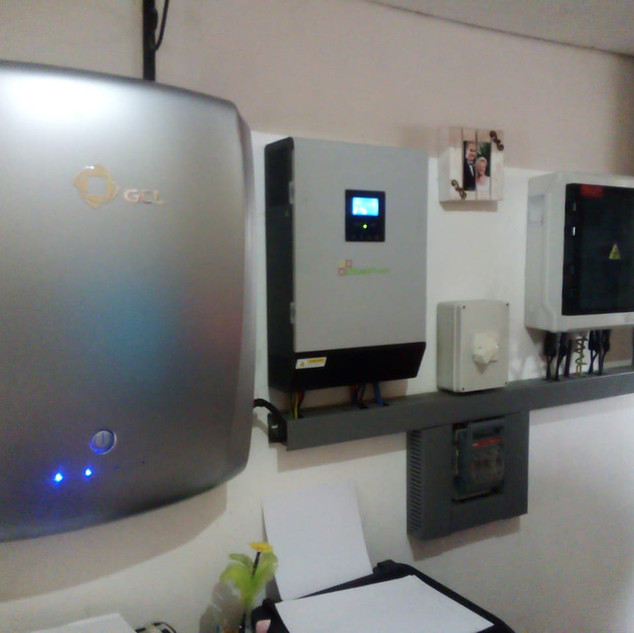 Home Backup System 4Kw with Lithium Storage
