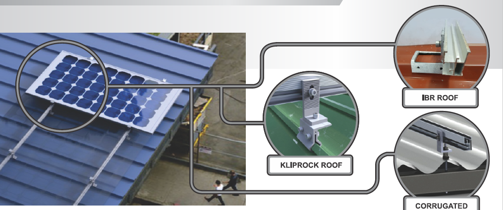Metal Roof Mouting Structures
